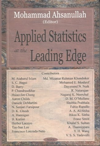 Applied Statistics at the Leading Edge (Hardback)