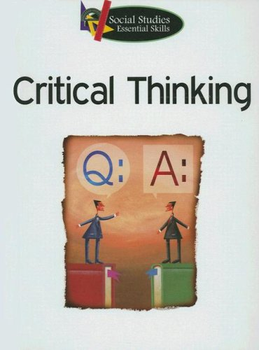 9781590367551: Critical Thinking (Social Studies Essential Skills)