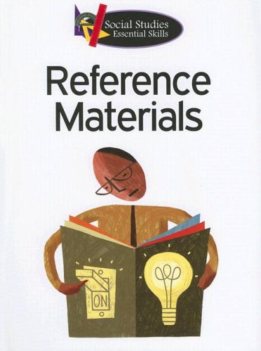 Reference Materials (Social Studies Essential Skills) (1590367588) by Liz Brown