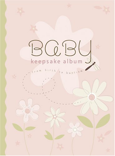 9781590387733: Baby Keepsake Album: From Birth to Baptism (pink)