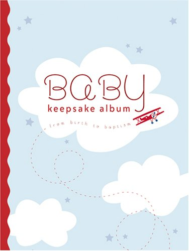 9781590387740: Baby Keepsake Album: From Birth to Baptism (Blue)