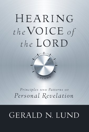 9781590388938: Hearing the Voice of the Lord