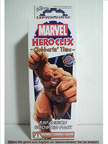 Marvel HeroClix Clobberin' Time Booster: Various