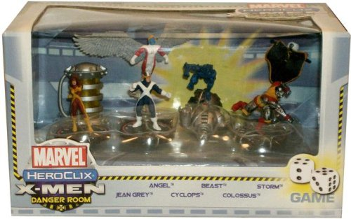 9781590413265: Marvel HeroClix: X-Men Danger Room Game