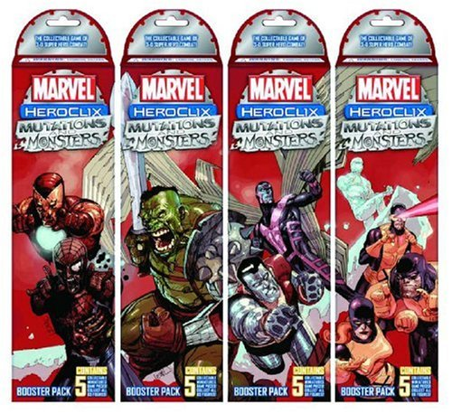 9781590414316: Marvel Heroclix: Mutations and Monsters