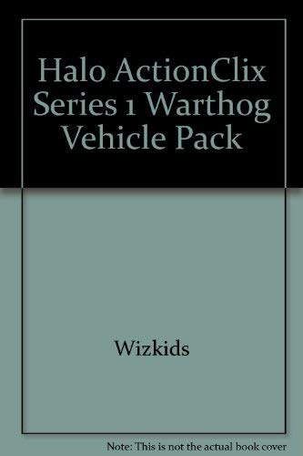 Halo ActionClix Series 1 Warthog Vehicle Pack