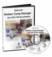 9781590425886: Workers' Comp Manager plus OSHA 300 Recordkeeper CD-ROM