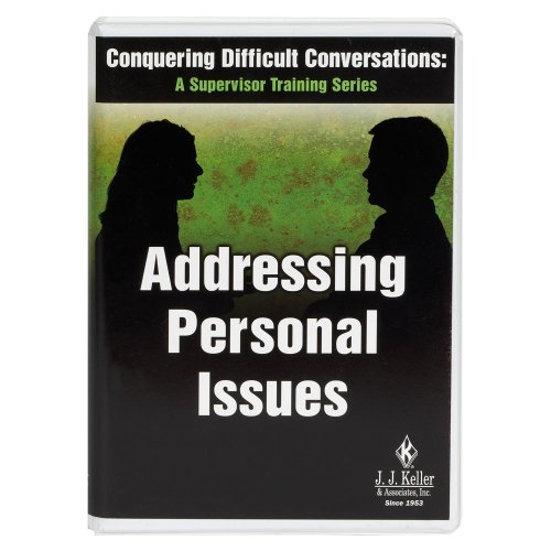 9781590428603: Conquering Difficult Conversations: Addressing Personal Issues - DVD Training (782DVD)