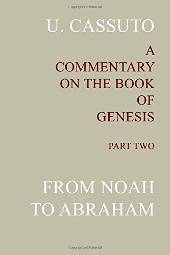 9781590457993: A Commentary on the Book of Genesis (Part II): from Noah to Abraham (Volume 2)