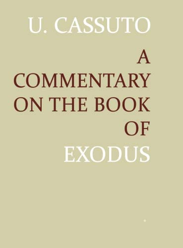 9781590458747: A Commentary on the Book of Exodus