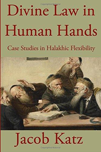 9781590459720: Divine Law in Human Hands: Case Studies in Halakhic Flexibility
