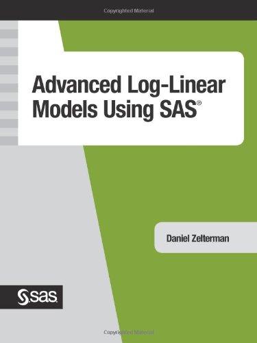 9781590470800: Advanced Log-Linear Models Using SAS