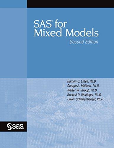 9781590475003: SAS for Mixed Models