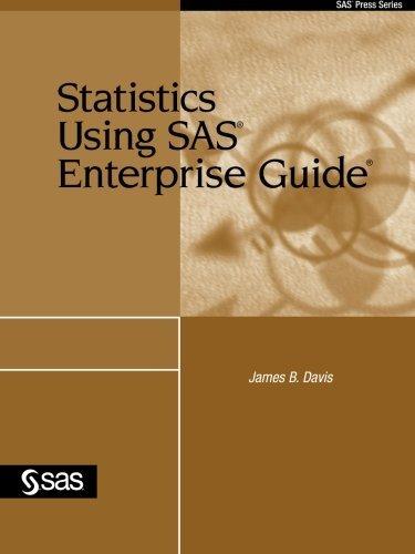 9781590475669: Statistics Using SAS Enterprise Guide (SAS Press)