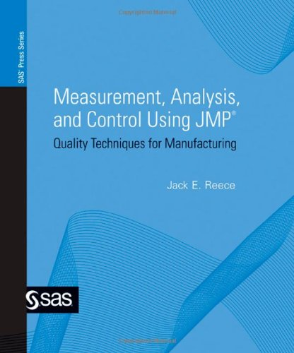 9781590478851: Measurement, Analysis, and Control Using Jmp: Quality Techniques for Manufacturing