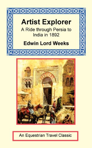 9781590481714: Artist Explorer - A Ride through Persia to India in 1892