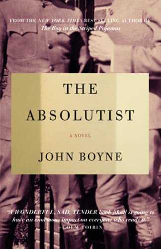9781590515525: The Absolutist