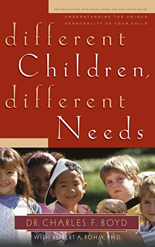 9781590523124: Different Children, Different Needs: Understanding the Unique Personality of Your Child