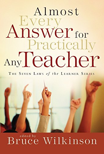 9781590524534: Almost Every Answer for Practically Any Teacher: The Seven Laws of the Learner Series
