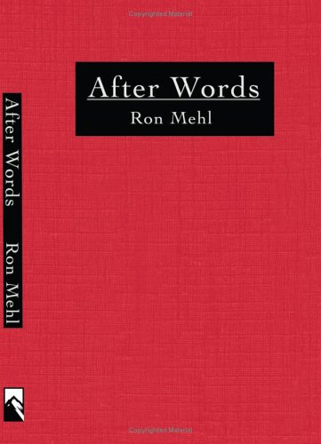 After Words: Ron Mehl