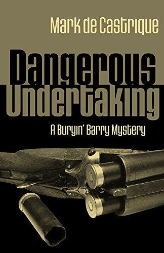 9781590580554: Dangerous Undertaking: A Buryin' Barry Mystery (Buryin' Barry Series)