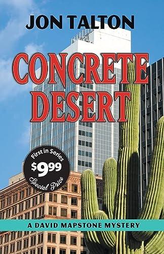 9781590583777: Concrete Desert: A David Mapstone Mystery (David Mapstone Mysteries)