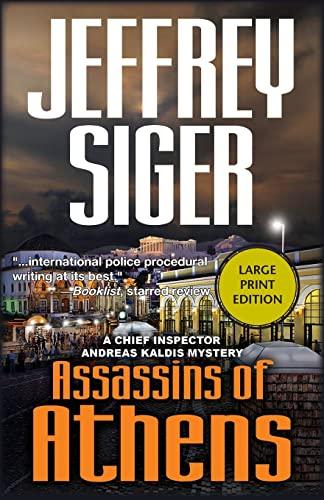 9781590586907: Assassins of Athens (Chief Inspector Kaldis)