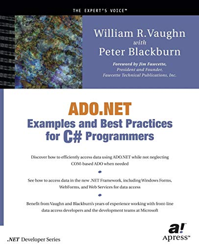 9781590590126: ADO.NET Examples and Best Practices for C# Programmers