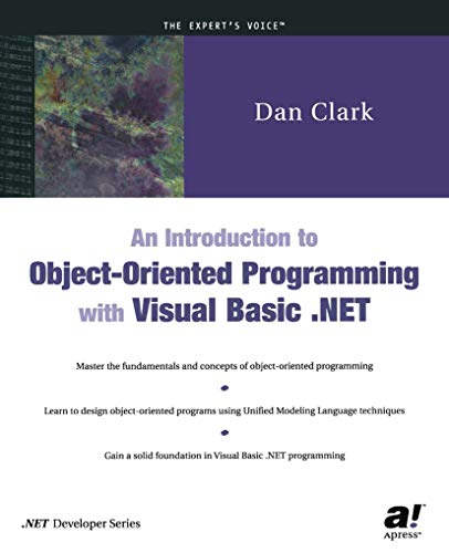 9781590590157: An Introduction to Object-Oriented Programming with Visual Basic .NET