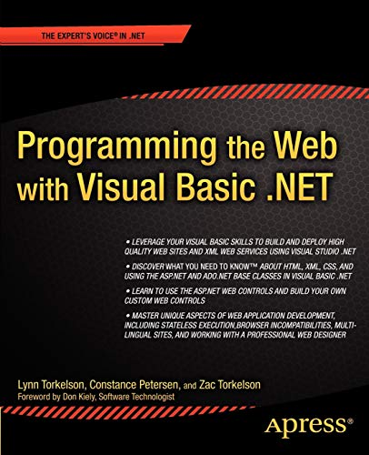 9781590590270: Programming the Web with Visual Basic .NET