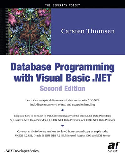 9781590590324: Database Programming with Visual Basic .NET, Second Edition