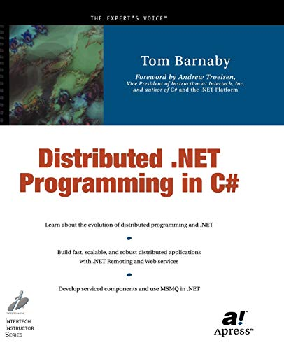 9781590590393: Distributed .NET Programming in C#