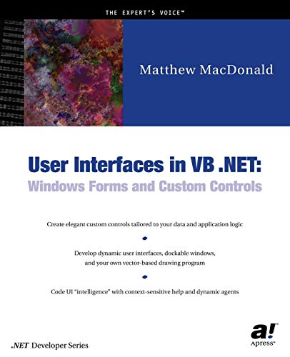 9781590590447: User Interfaces in VB  NET: Windows Forms and
