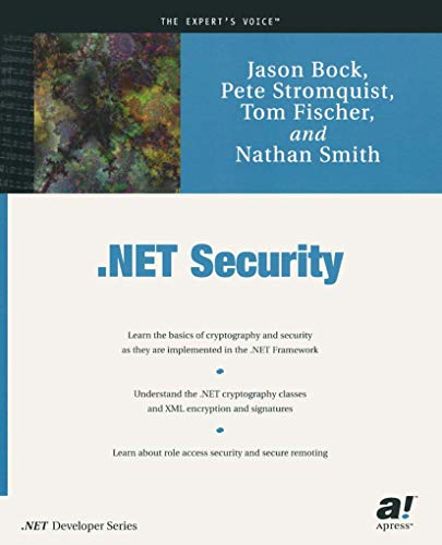 9781590590539: .NET Security