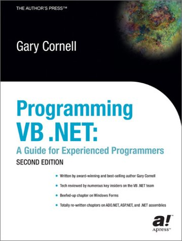 9781590590560: Programming VB .Net: A Guide for Experienced Programmers