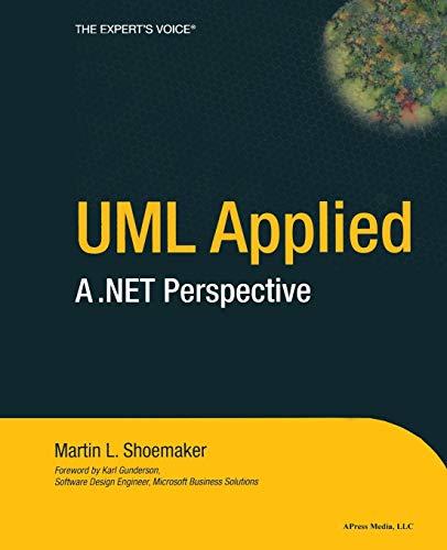 9781590590874: UML Applied: A .NET Perspective