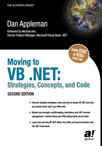 9781590591024: Moving to VB .NET: Strategies, Concepts, and Code, Second Edition