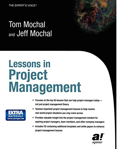 9781590591277: Lessons in Project Management