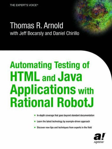 9781590591291: Automating Testing of Html and Java Applications With Rational Robotj