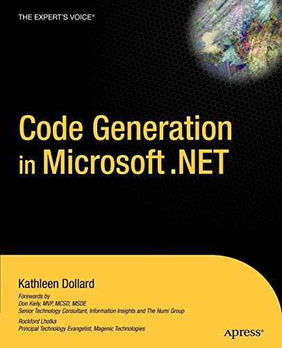 9781590591376: Code Generation in Microsoft .Net (Expert's Voice Books for Professionals by Professionals)