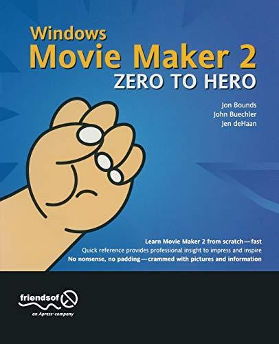 9781590591499: Windows Movie Maker 2 Zero to Hero