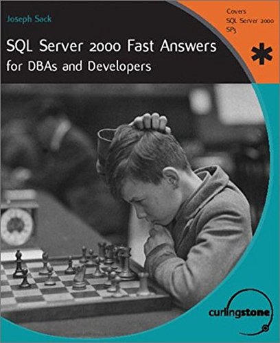9781590591611: SQL Server 2000 Fast Answers for Dbas and Developers