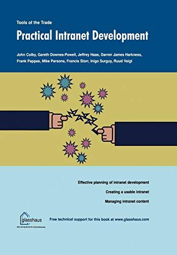 Practical Intranet Development: Colby, John, Surguy,
