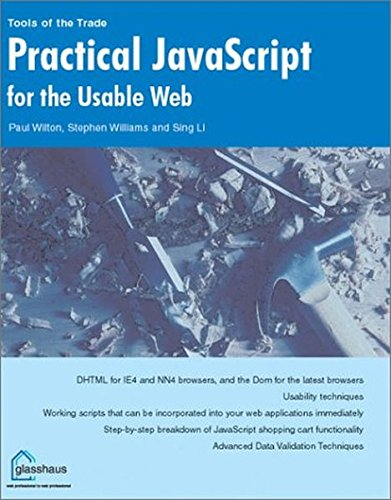 9781590591895: Practical Javascript for the Usable Web