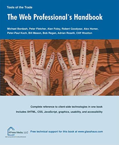 9781590592007: Web Professionals Handbook