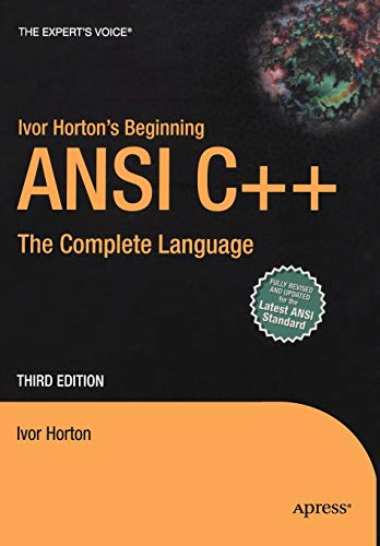 Ivor Horton's Beginning ANSI C++ : The: Ivor Horton