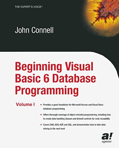 9781590592519: Beginning Visual Basic 6 Database Programming