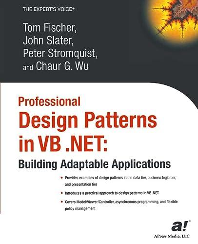 Professional Design Patterns in VB .NET: Building: Wu, Chaur; Fischer,