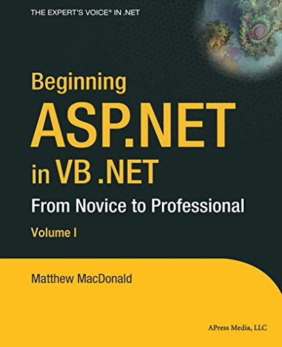 9781590592786: Beginning ASP.NET in VB .NET: From Novice to Professional