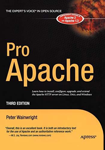 9781590593004: Pro Apache (Expert's Voice)